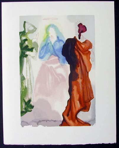 Salvador Dali - Divine Comedy - St. Bernard's Prayer to the Virgin