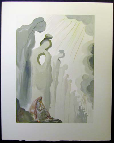 Salvador Dali - Divine Comedy - The Second Cornice