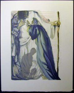 Salvador Dali - Divine Comedy - The Blind for Envy
