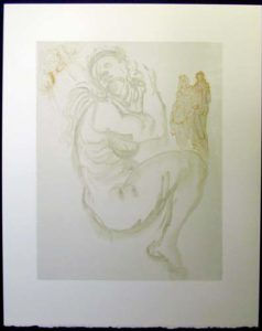 Salvador Dali - Divine Comedy - The Siren of the Dream