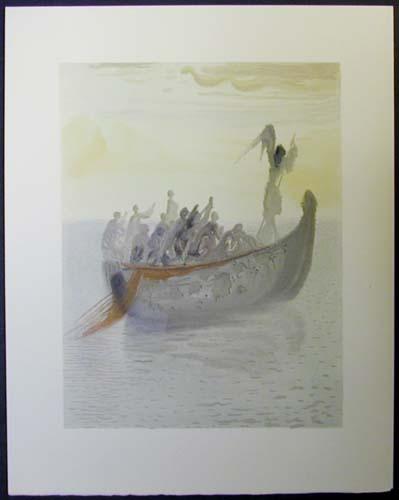 Salvador Dali - Divine Comedy - The Guiding Angel