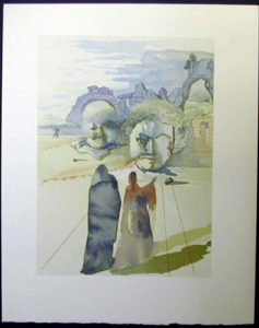 Salvador Dali - Divine Comedy - The Avaricious
