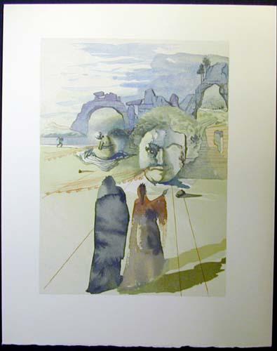Salvador Dali - Divine Comedy - The Avaricious