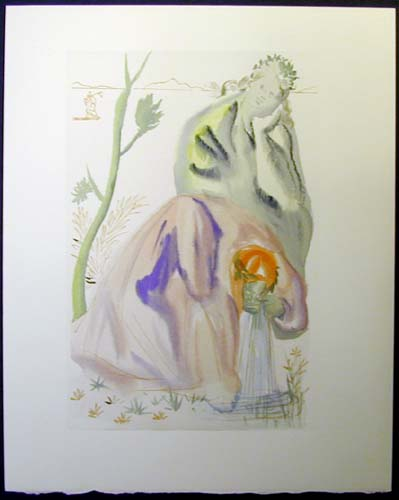 Salvador Dali - Divine Comedy - The Golden Age