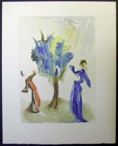 Salvador Dali - Divine Comedy - The Tree of Punishment
