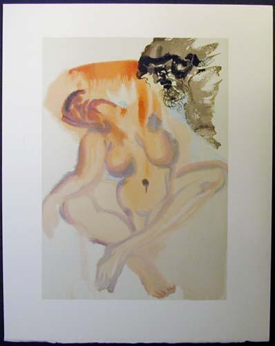 Salvador Dali - Divine Comedy - The Neglectful