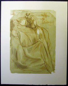 Salvador Dali - Divine Comedy - Dante's Repentance