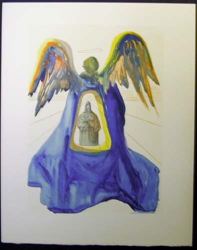 Salvador Dali - Divine Comedy - Dante Purified