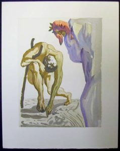 Salvador Dali - Divine Comedy - The Law of Climbing