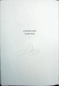 Salvador Dali - L'Art de Aimer – Ovide - Tirage Page