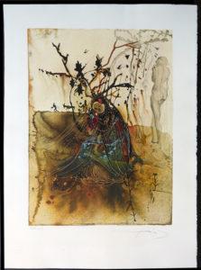 Salvador Dali - Four Seasons - Summer