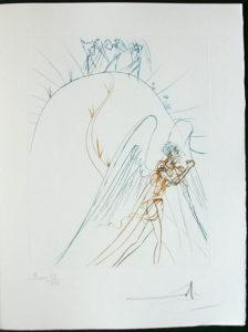 Salvador Dali - Paradise Lost - La Fuite de Satan(Satan's Flight)