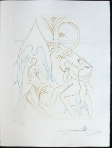 Salvador Dali - Paradise Lost - L'Arbre de Vie(The Tree of Life)