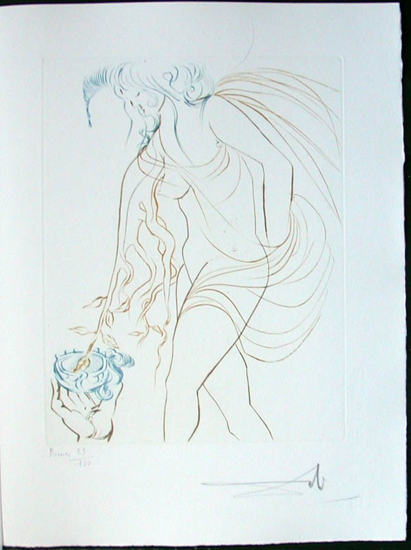 Salvador Dali - Paradise Lost - La Coupe Offerte(The Offered Cup)