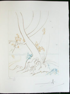 Salvador Dali - Paradise Lost - L'Arbre de Science(The Tree of Science)