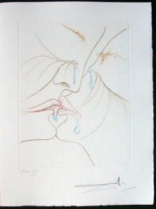 Salvador Dali - Paradise Lost - Le Baiser(The Kiss)