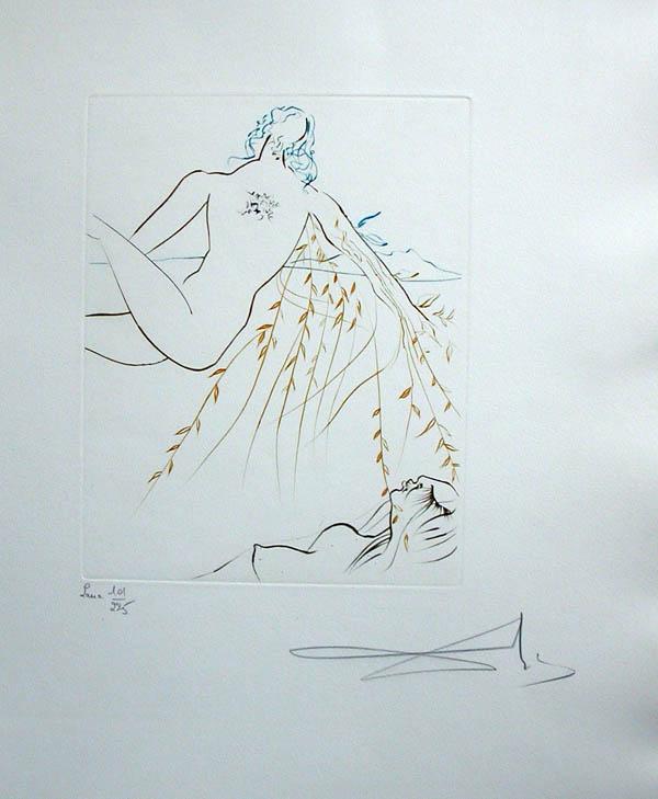 Salvador Dali - Paradise Lost - Le Repos Amoureux)(Amorous Repose)