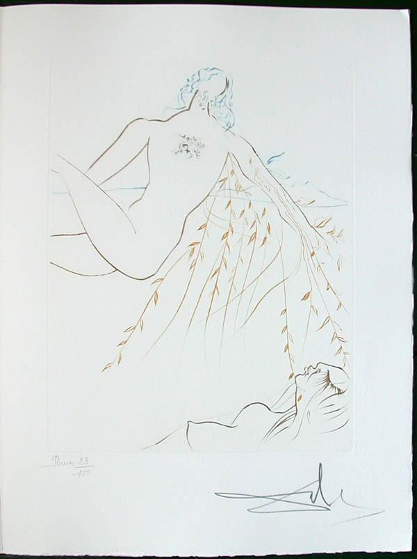 Salvador Dali - Paradise Lost - Le Repos Amoureux(Amorous Repose)