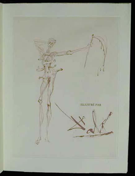 Salvador Dali - La Venus aux Fourrures - La Femme (The Woman)