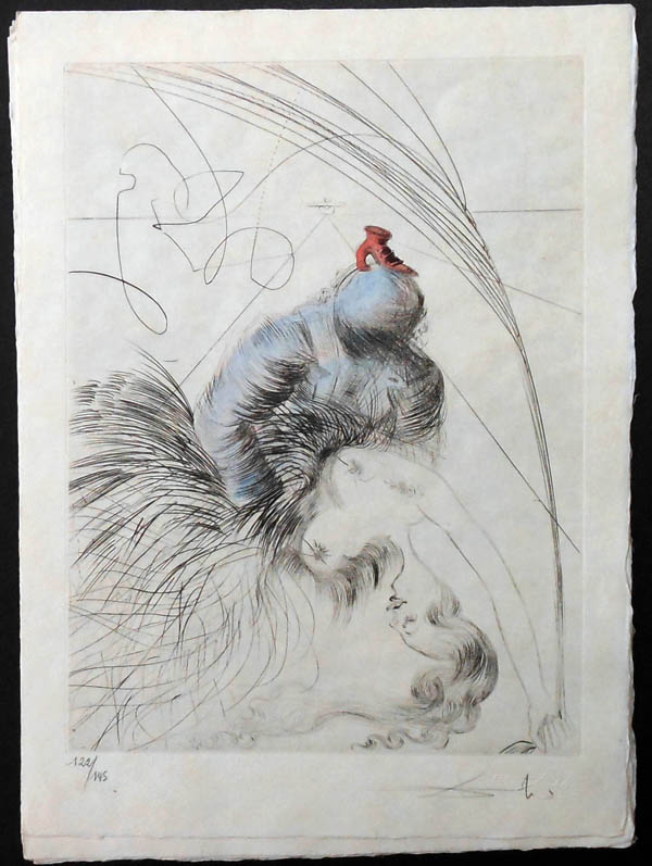 Salvador Dali - La Venus aux Fourrures - La Femme a la Chaussure(The Woman of the Shoe)