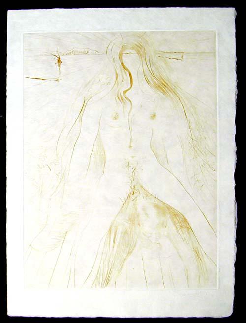 Salvador Dali - La Venus aux Fourrures - La Femme a Cheval(The Woman on a Horse)
