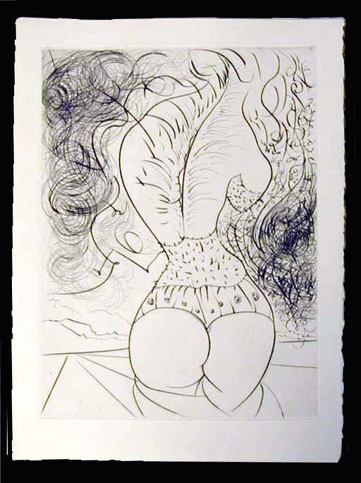 Salvador Dali - La Venus aux Fourrures - Le Torse (The Torso)