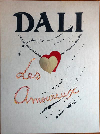 Salvador Dali - Les Amoureux (The Lovers) - Portfolio Case