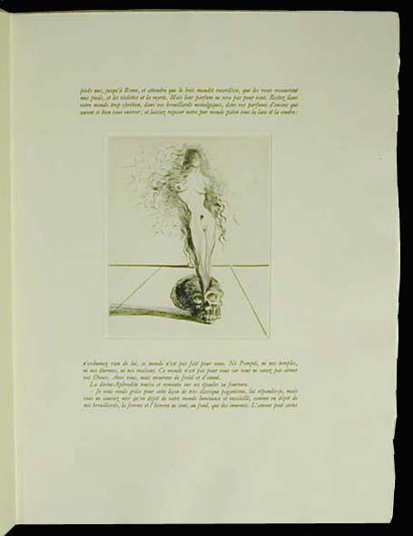 Salvador Dali - La Venus aux Fourrures - Vanite