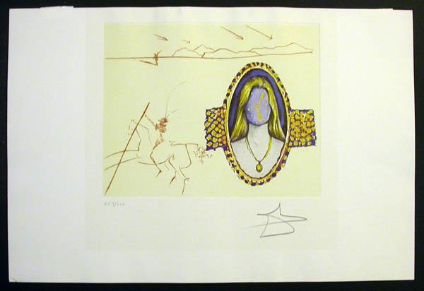 Salvador Dali - The Cycles of Life - Vigor of Youth