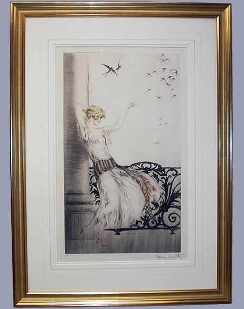 Salvador Dali - Custom Picture Framing - Plainfield, Illinois - Frame Example 4