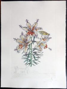 Salvador Dali - Surrealsitic Flowers, Florals - Lily Chapelle, K