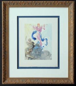 Salvador Dali - Divine Comedy Framing - floated