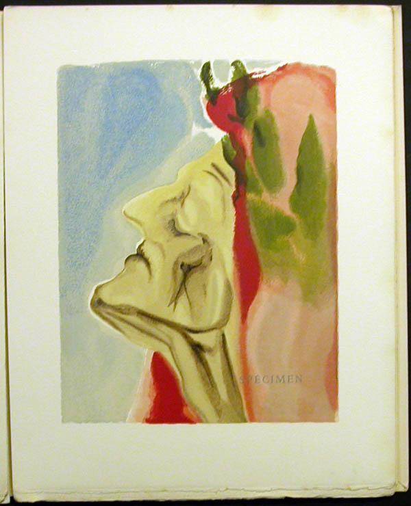 Salvador Dali - Divine Comedy Specimen Book - Aries