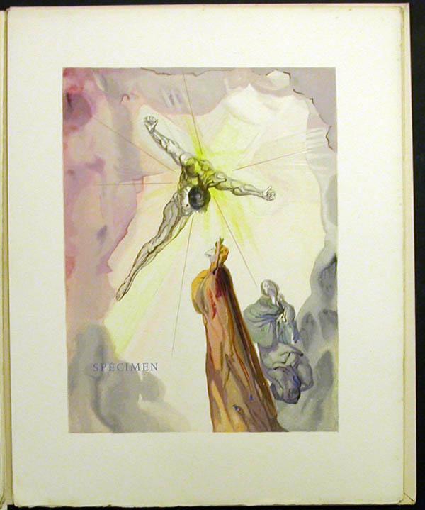 Salvador Dali - Divine Comedy Specimen Book - Leo
