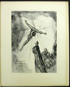 Salvador Dali - Divine Comedy Specimen Book - Cancer