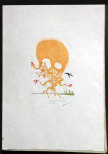 Salvador Dali - Huit Peches Capitaux or Eight Deadly Sins - Envy