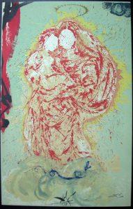 Salvador Dali - Don Quichotte de la Mancha, Book A – 1957 - Madonne