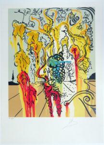 Salvador Dali - Portrait of Autumn - Portrait of Autumn